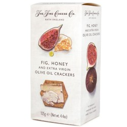 Fig, Honey and Extra Virgin Olive Oil Crackers