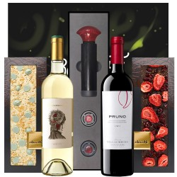 Chocolate & Wine Gourmet Gift Box