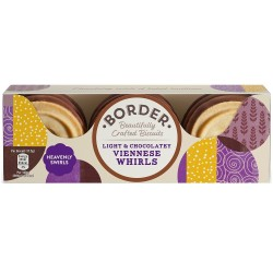 Border - Light & Chocolatey Viennese Whirls 12x150g