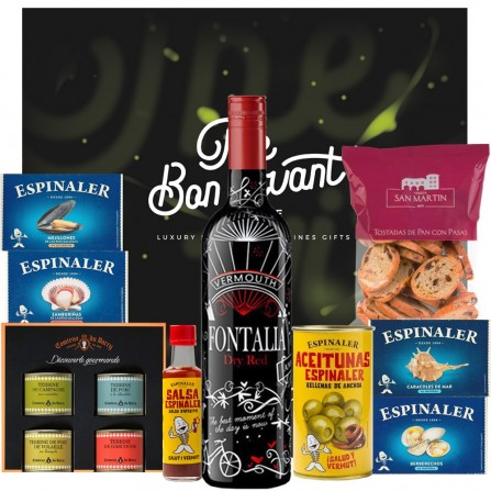 Pack Regalo Aperitivo Fontalia Dry Red