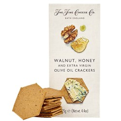 Walnut, Honey and Extra Virgin Olive Oil Crackers 125gr