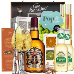 Ginger Ale & Chivas 12 Years Old Gift Box